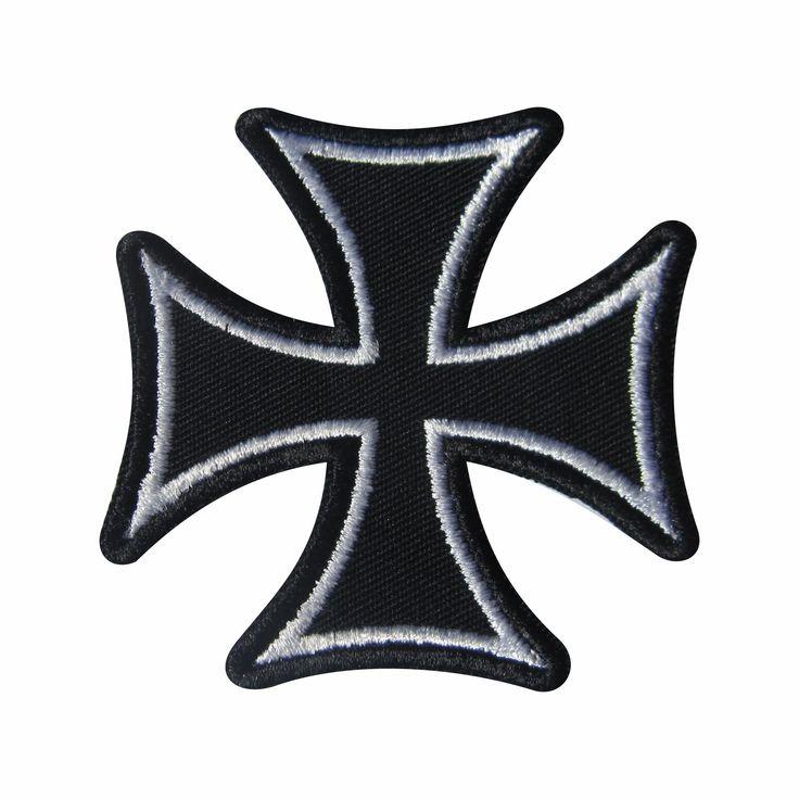 Cruz de Malta Contorno Branco
