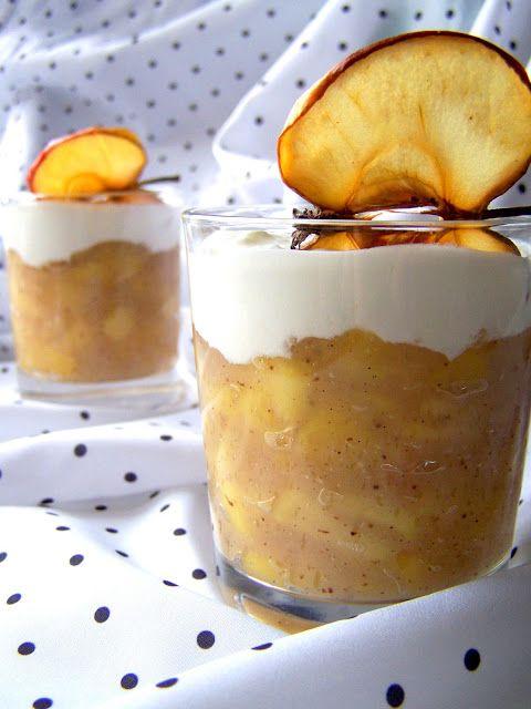 S vášní pro jídlo: Jablečný pudink se zakysanou smetanou