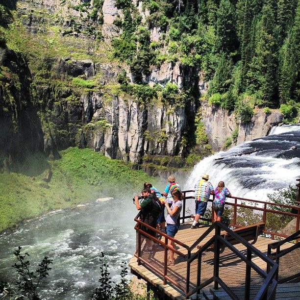 Don't miss the hike to Mesa Falls in Island Park next time you are near West Yellowstone. Well worth the short side trip!