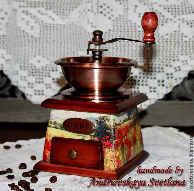 Купить Мельница для кофе Маки - кофемолка, мельница для кофе, мельница, ручная мельница, ручная кофемолка