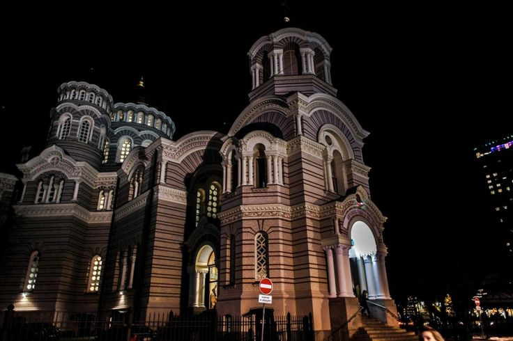 #ryga #Łotwa #Latvia  #zabytki #architektura #cerkiew