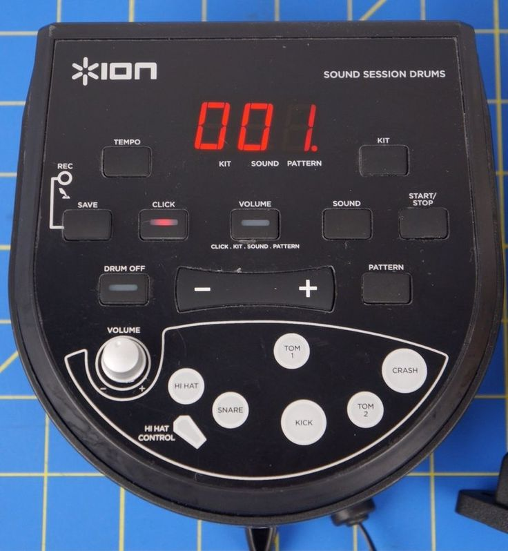 ION IED11 Drum Module Brain Controller Alesis Dm6 clone Guaranteed w/cords/power #ION