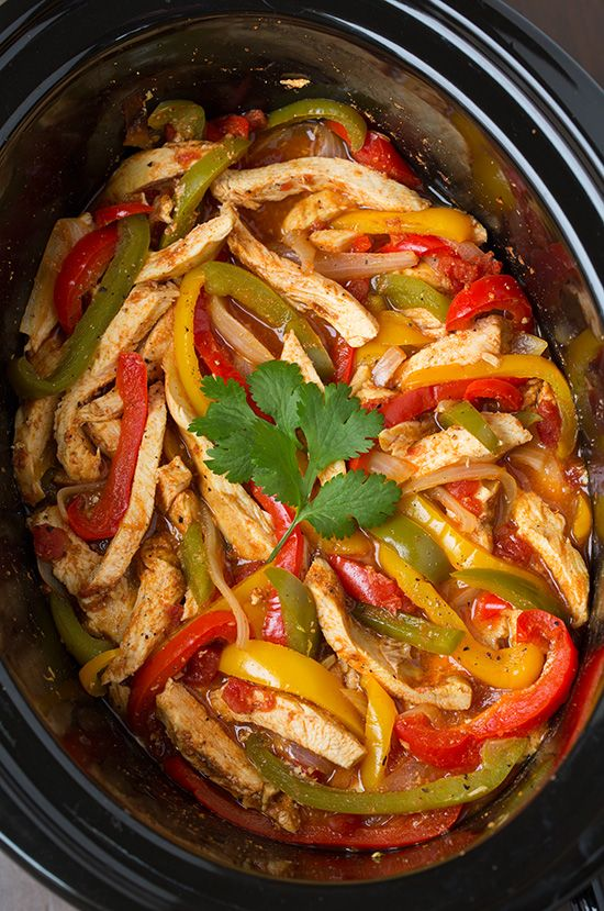 uk Fajitas Slow Chicken and Slow Chicken Fajitas  Slow Chicken fitflop   styles Cooker   Cooker Cooker Recipe