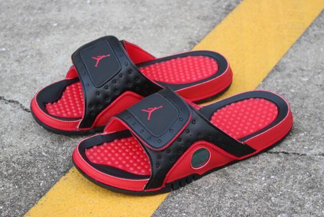 New Air Jordan Hydro 13 Xiii Retro Black True Red 684915 001 Free Shipping Air Jordans Jordans For Men Purple Basketball Shoes