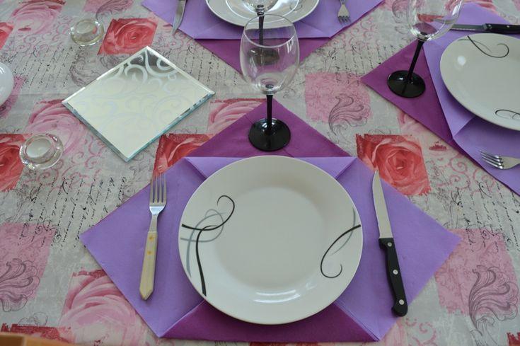 Déco de table - sets de table en papier
