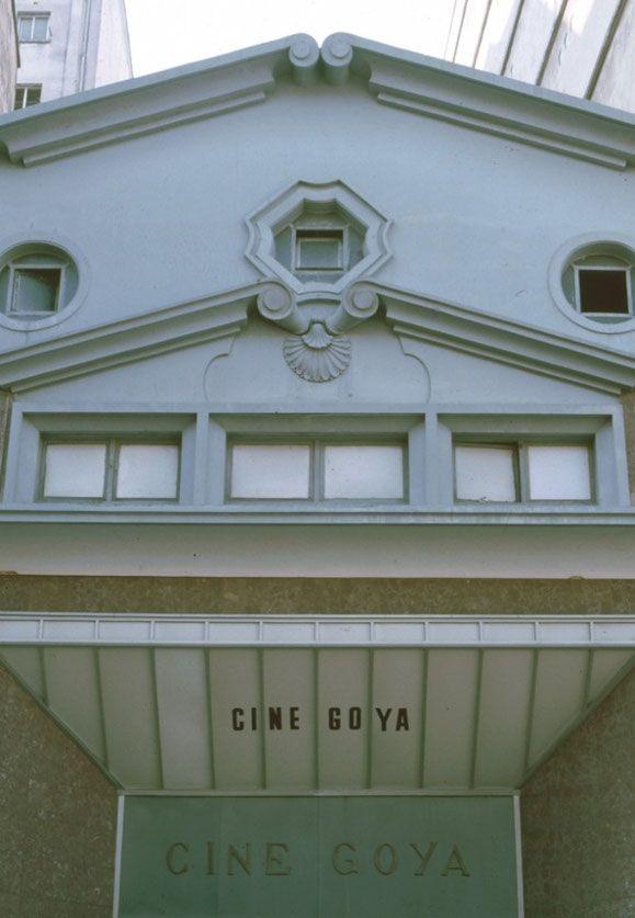 Cine Goya se encontraba en la Calle Cordelería