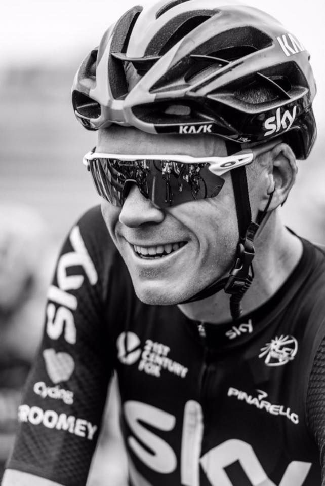 Chris Froome: Happy days! ☀️ #tdf2016 #lovecycling  Photo: @therussellellis