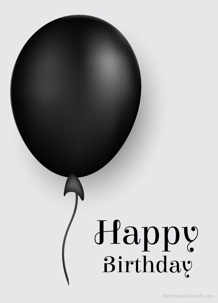 Happy Birthday Happy Birthday Black Birthday Wishes Cards Happy Birthday Wishes Images