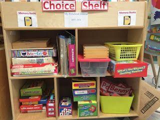 Миссис Роджерс Детский сад Хеппенинги: Выбор времени Центр деятельности - Грамотность