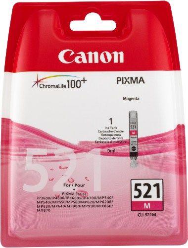 Canon CLI-521 Cartouche d'encre d'origine: IP pour Canon Pixma iP3600, IP4600, pour Canon Pixma MP MP540, MP620, MP630, MP980 Garantie de 1…