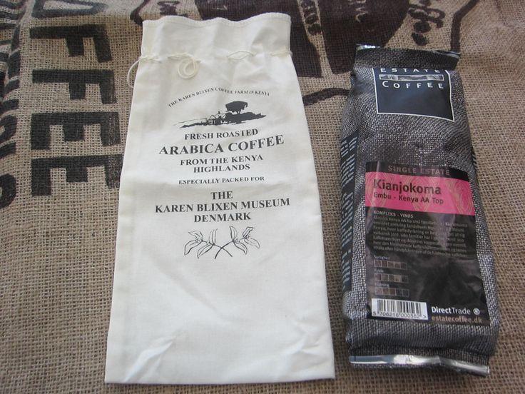 Not Kenya Ngong, but Kenya Kianjokoma. Not from Karen Blixen, but from Estate Coffee