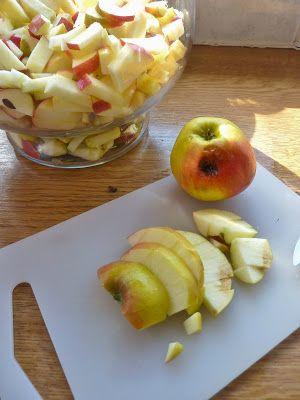DE GULLE AARDE: zelf maken: appelazijn- haarspoeling (ook medicijn)