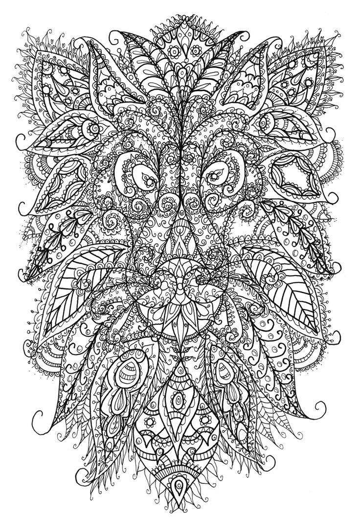 Lion Doodle by WelshPixie @ DeviantArt: