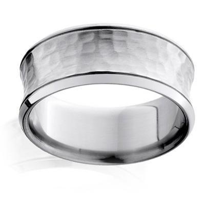 Simple Becker us Jewelry Corp mm Hammered Titanium Men us Wedding Band Men Wedding Bands