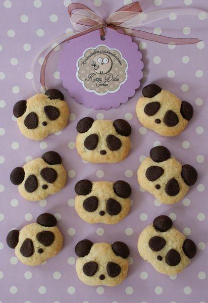 Choco-Panda+Cookies+von+Kava+Dolce+auf+DaWanda.com