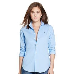 Slim-Fit Poplin Shirt - Polo Ralph Lauren Sale - RalphLauren.com