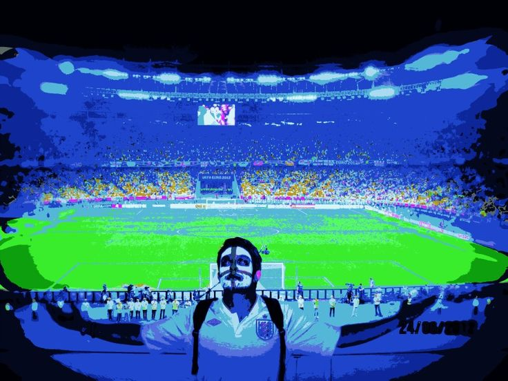 Me at Euro 2012