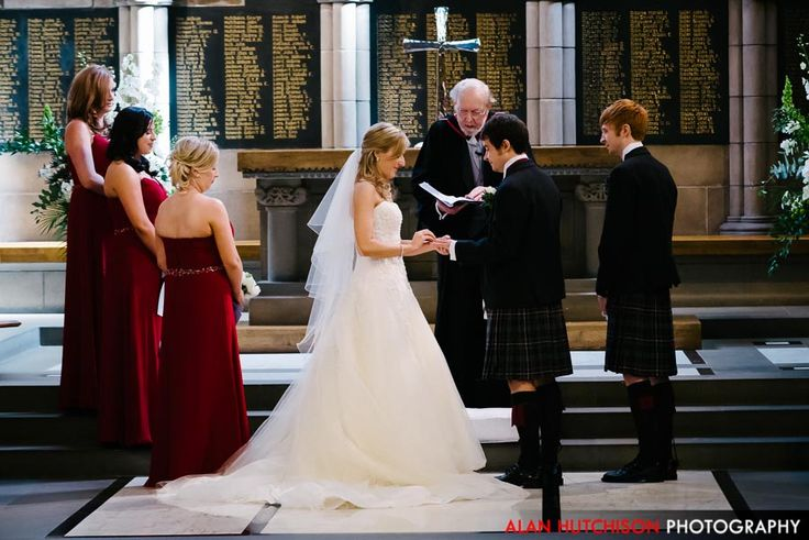 Glasgow university union wedding