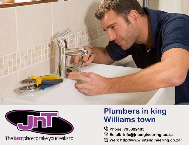 Find The Plumbers in King Williams Town Jnt Engineering Plumbers in King William's Town Eastern Cape. We promise to provide a plumber service of the highest quality at the best prices in King Williams Town. http://bit.ly/2iCjJEQ