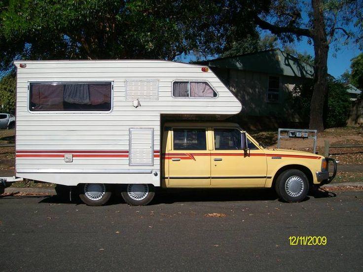 Ford Powerstroke For Sale >> Datsun Camper RV | Trucks | Motorhome, Recreational vehicles, Camper