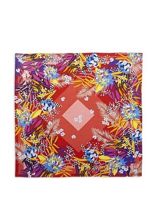 66% OFF KENZO Women's Nalaya Printed Scarf, Red Print