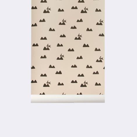 Rabbit Wallpaper - Rose