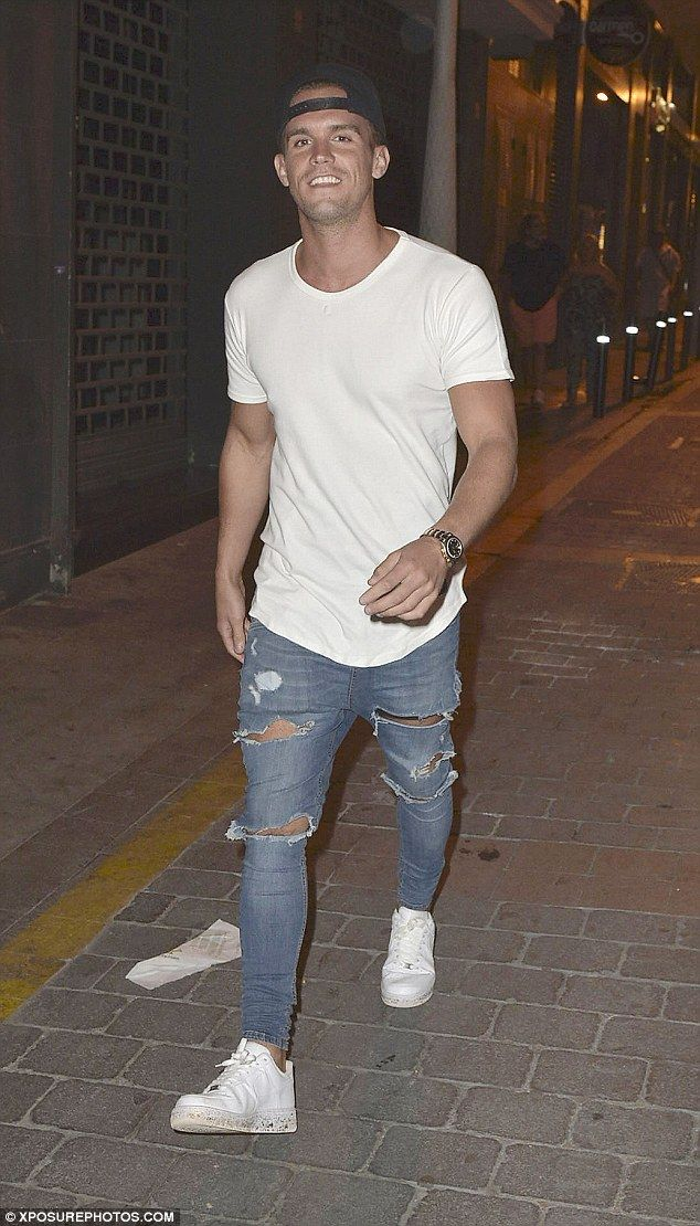 Moving on: Gary 'Gaz' Beadle showed no sign of being affected by his on/off ex Charlotte Crosby's recent decision to quit the show in a bid to finally move on from their toxic romance
