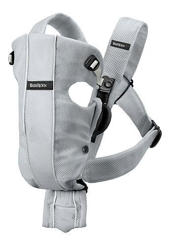 Baby Bjorn's are the go-to for baby carriers. We had one and my husband ending up using it all the time, and I stuck to the fabric wraps. It's not as comfortable for the baby (and mom) in my opinion, but if you're going down that path (especially for the dads) I'd suggest the mesh ones. They are more breathable and flexible and softer on the skin. | BabyBjorn Baby Carrier Original • Silver • Mesh