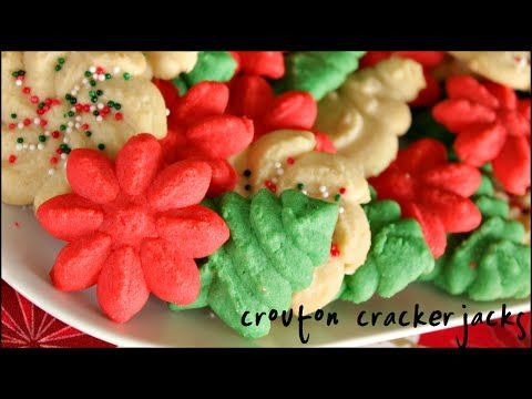 (106) How to Make Spritz Cookies!! Classic Spritz Cookie Recipe - YouTube
