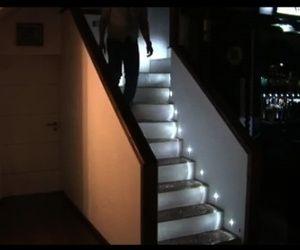 1000 ideas about led stair lights on pinterest led down. Black Bedroom Furniture Sets. Home Design Ideas