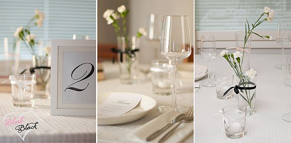 Table decorations | Blush loves Black blog on haat.fi