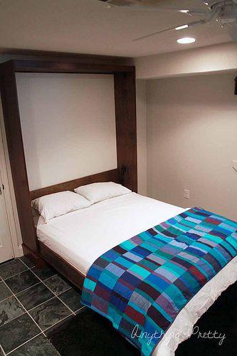 Diy card catalog murphy bed murphy bed pinterest diy for Awesome murphy beds