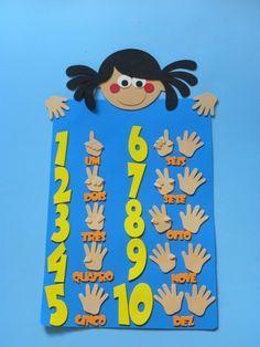 painel de números - Cortes para Montar - Petilola