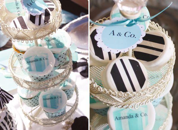 tiffany-&-co-sweetsTiffany'S Birthday, Birthday Theme, Theme Parties, Tiffany Blue, Beach Parties, Beach Party, Beach Glam, Glam Beach, Themed Parties