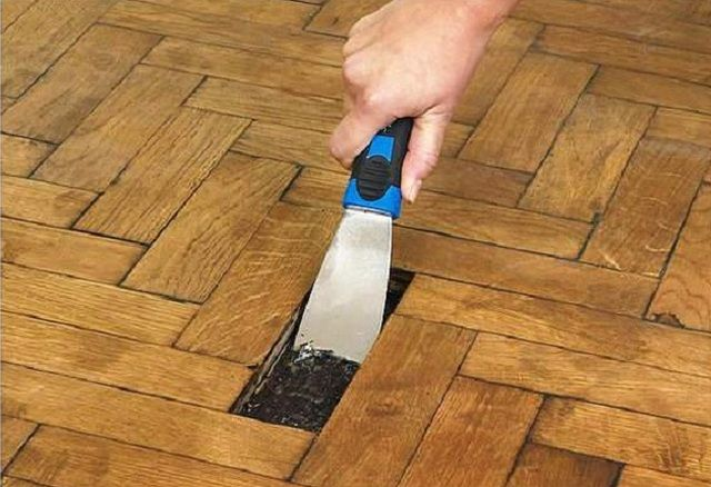 How To Remove Parquet Flooring From Plywood And Concrete Subfloors Parquet Flooring Flooring Vinyl Plank Flooring