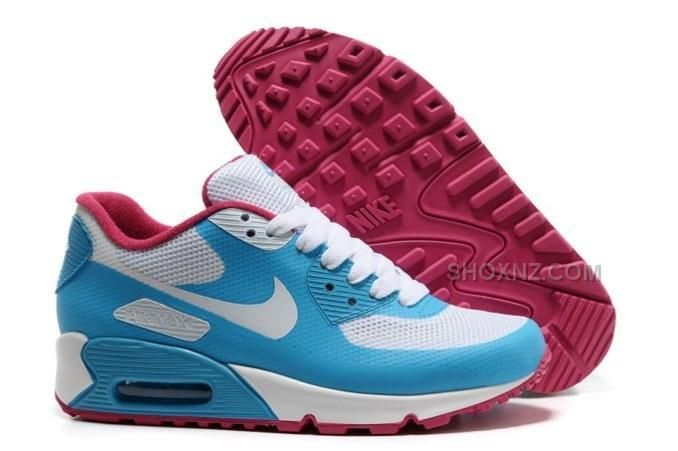 http://www.shoxnz.com/2015-cheap-air-max-90-hyperfuse-prm-womens-shoes-for-sale-blue-white-red.html 2015 CHEAP AIR MAX 90 HYPERFUSE PRM WOMENS SHOES FOR SALE BLUE WHITE RED Only $89.00 , Free Shipping!