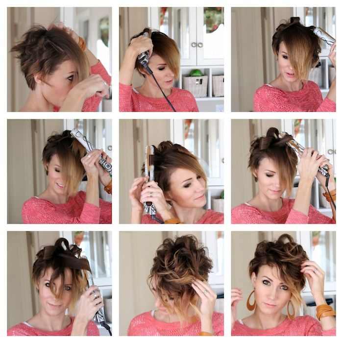 1001 Idees Pour Une Coiffure Mariage Cheveux Courts Les Coiffures Des Invitees Tuto Coiffure Cheveux Court Cheveux Courts Mariage Cheveux Courts Tuto