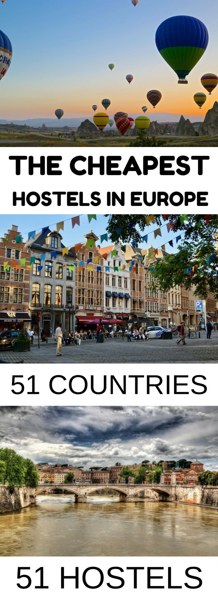 The cheapest hostels in Europe for those who love budget travel