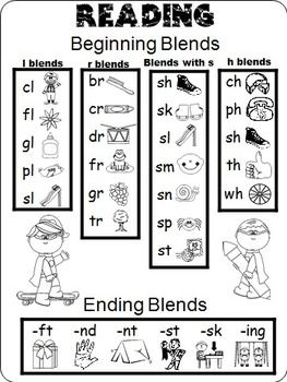Beginning Blends (free; from Tracy Pippin's