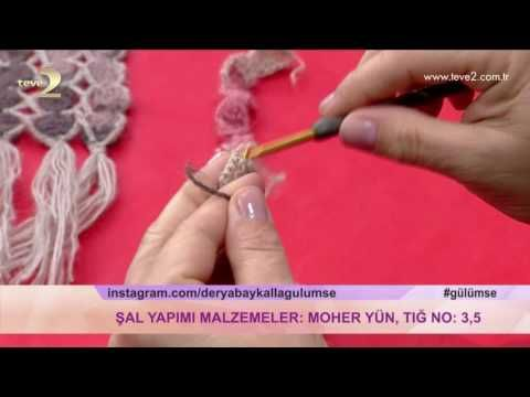 Derya Baykal'la Gülümse: Baharlık Şal Yapımı - YouTube