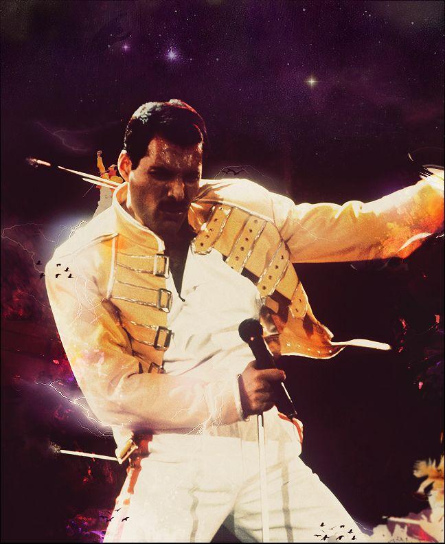 Freddie Mercury by MeuhMeuhh.deviantart.com on @deviantART