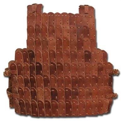 Amazon.com: Medieval Renaissance Lamellar Leather Scale Armor: Sports & Outdoors