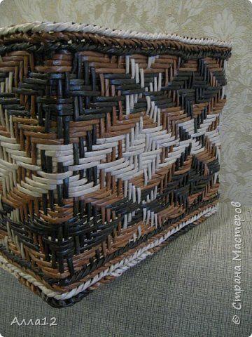 Повторюшки работ Марголины. Как же трудно справляться с ситцевым плетением. Особенно когда стоечки так близко расположены. фото 2