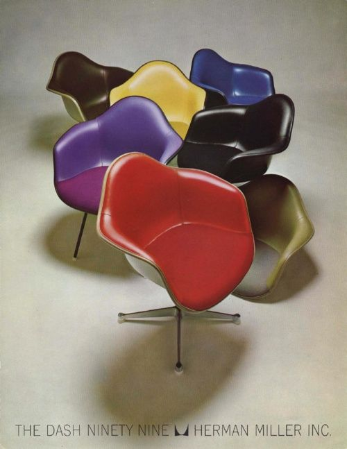 Eames chairs advertisement, 1966