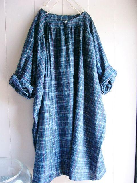 木綿の着物からワンピース