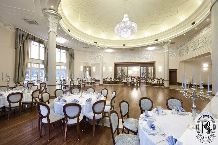 Sala Balowa Rezydencja Luxury Hotel****. Piekary Śląskie.   #Wesele #Ślub #SalaWeselna #Ballroom #Weeding #Design