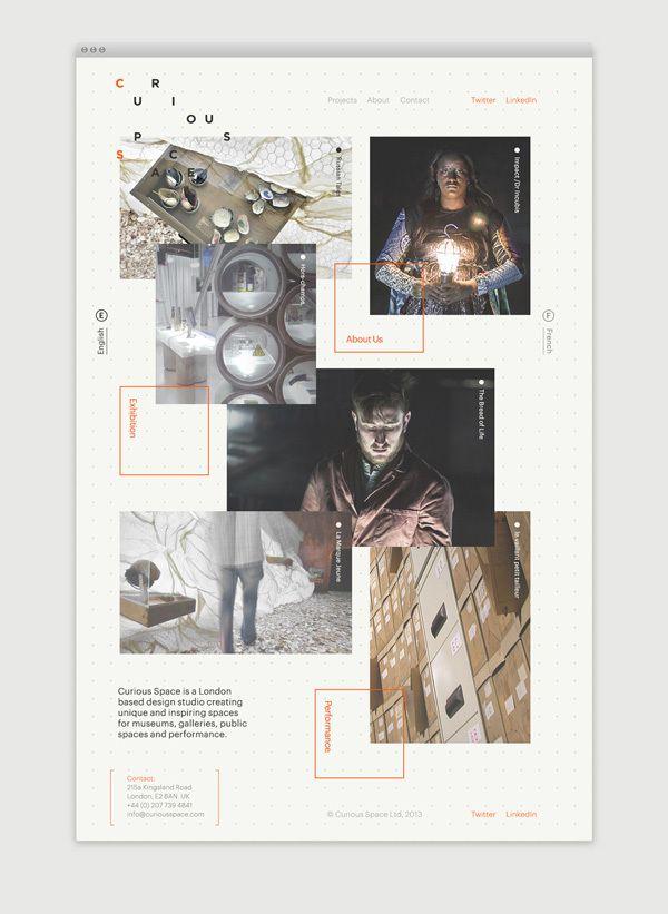 Curious Space by Socio Design, via Behance