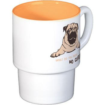 Pug Coffee Cups Coffee Cups By Pugdelicious http://www.cafepress.com.au/deliciouspugshop