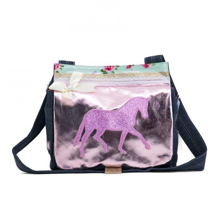 Zebra Trends Canvas tas paard