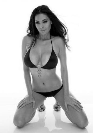 Tera Patrick Poster Standup 4inx6in black and white